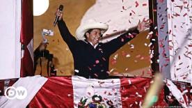 ??  ?? Pedro Castillo, Peru's new president