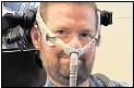 ?? Foto: Scott Kauffman/ The ALS Association/dpa ?? Erlag der ALS-Krankheit: Pat Quinn.