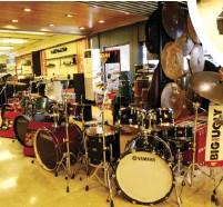 ??  ?? Yamaha drums