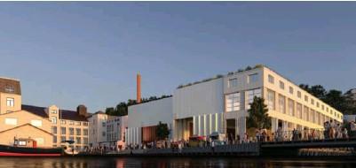 ?? ILLUSTRASJON: VILL ARKITEKTUR ?? Slik mener Vill Arkitektur at Kjødehallen kan bli seende ut når kulturlivet flytter inn.