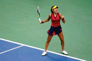 ?? (AP) ?? How will Raducanu cope now that elite players are all too aware of her ski ll s?