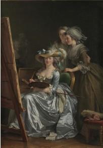 ??  ?? 2. Self-portrait with Two Pupils, 1785, Adélaïde Labille-Guiard (1749–1803), oil on canvas, 210.8 × 151.1cm. Metropolitan Museum of Art, New York