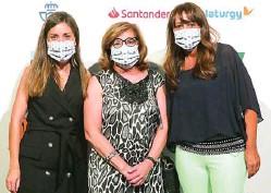 ??  ?? Elena Gracia, Cristina Granados y Maricruz Martín