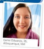 ??  ?? Genni Edwards, 35, Albuquerque, NM