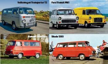 ??  ?? Volkswagen Transporter Т2 Renault Estafette Ford Transit Mk1 Skoda 1203