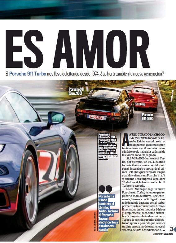 ??  ?? Porsche 911 (Gen. 930) Porsche 911 (Generación 930) Porsche 911 (993): Los años 70 y 90 pasan volando por aquí. El 930 Turbo de Ferry Porsche persigue al último 911 refrigerado por aire (993) Porsche 911 (993)