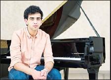 ??  ?? Utsav Lal, classical raga and jazz pianist