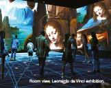 ??  ?? Room view, Leonardo da Vinci exhibition.