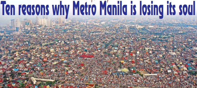 ??  ?? Instead of a civic soul we have urban sprawl up to 50-kilometers from the historic center of Manila.