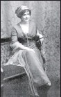 """?? Library of Congress ?? Lady Duff Gordon: The legendary """"pioneer of sexy underwear"""" and a passenger on the doomed liner."""