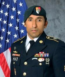 ??  ?? Vittima Logan Melgar, sergente dei berretti verdi, ucciso a Bamako in Mali a 34 anni