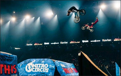 ?? Submitted photo ?? You Got This features a star-studded cast of top tier international athletes who hold over 45 X Games medals combined, including FMX riders such as 12-time X Games medalist Jarryd McNeil and 19-time X Games medalist Nate Adams.