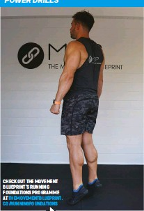 ??  ?? CHECK OUT THE MOVEMENT BLUEPRINT'S RUNNING FOUNDATIONS PROGRAMME AT THEMOVEMENTBLUEPRINT. CO/RUNNINGFOUNDATIONS