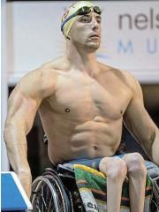 ?? /Anton Geyser/Gallo Images ?? One more shot: Hendrik van der Merwe will take part in the 100m breaststroke in the Paralympics in Tokyo.