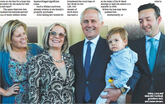 Pressreader The Daily Telegraph Sydney 2015 09 19 The Muddle Of Malcolm Sorry, your search returned zero results for daughter daisy turnbull brownl james brown. pressreader