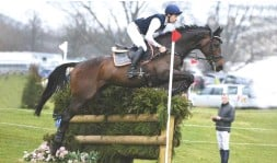 ??  ?? Chris Burton and Quality Purdey, who is aimed at Badminton 2021