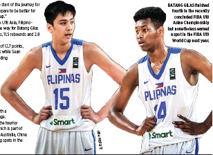 0c2652a8b69c F BI A W E B S I T E. BATANG GILAS finished fourth in the recently  concluded FIBA U18 Asian Championship but ...