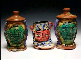 ?? LOANED PHOTO ?? CHRIS LEONARD, A CERAMIST AND CERAMICS his work at the Yuma Art Symposium. instructor at South Texas College, will present