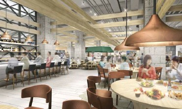 ??  ?? A taste of Japan in Mitsukoshi's food hall, which will have Japanese culinary offerings and select local outlets.