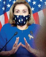 ??  ?? House Speaker Nancy Pelosi said Thursday, after the Democratic lawmakers introduced their bill, that she would wait for a report from President Biden's commission that is studying the size of the Supreme Court.