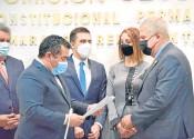 ?? Foto Cortesía ?? Alejandro Carlos Chacón, nuevo presidente de la Comisión Segunda de Cámara./