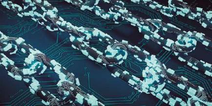 ??  ?? El Blockchain está siendo utilizada con éxito en las cadenas de suministro en la agricultura y la ganadería