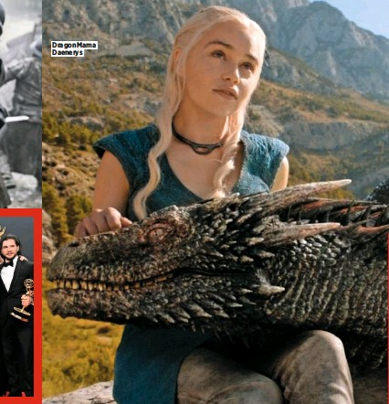 ??  ?? Dragon Mama Daenerys