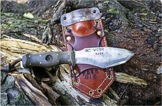 ??  ?? Each WCSK carries its own serial number. That number is also stamped into the sheath when it is ordered from Stitched Gear Outfitters.