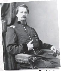 ??  ?? Winfield Scott Hancock.