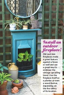 Pressreader Easy Gardens 2019 05 01 Install An Outdoor Fireplace