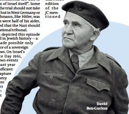 ??  ?? David Ben-Gurion