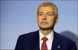 ?? (Photo Cyril Dodergny) ?? Le président de l'AS Monaco participera à la reconstruction d'un terrain de football à Saint-Martin-Vésubie, à hauteur de   euros.