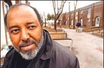 ?? RICK EGLINTON/TORONTO STAR ?? Mohamed Gilao, a leader of the Somali community, lost his only son to gun violence last summer.