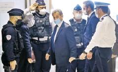 ?? Efe ?? El expresidente francés Nicolas Sarkozy fue condenado a tres años de prisión por corrupción.
