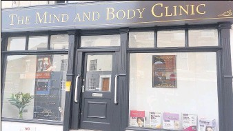??  ?? The Mind and Body Clinic which has opened in Hinckley