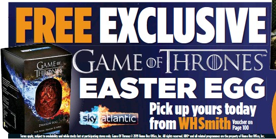 Pressreader The Mail On Sunday 2019 04 14 Free Exclusive Game