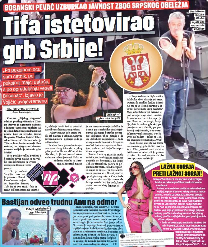 Tifa Istetovirao Grb Srbije Pressreader