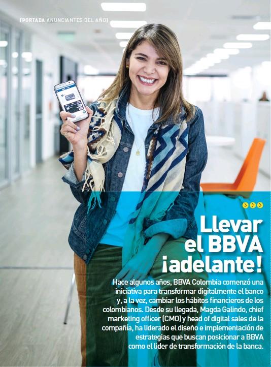 ??  ?? Magda Galindo, chief marketing officer (CMO) y head of digital sales de BBVA.