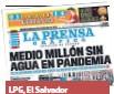??  ?? LPG, El Salvador 24 de febrero de 2020