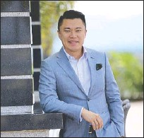 ?? WALTER BOLLOZOS ?? Alliance Global Group Inc. CEO Kevin Tan: We're building not just malls but destinations that promote tourism.