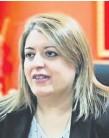 ??  ?? Sandra Quiñónez. fiscala Gral.