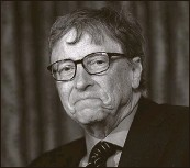 ?? Associated Press ?? Microsoft's Bill Gates has slipped $3 billion behind.