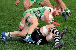 ?? GETTY IMAGES ?? Jamie Booth has withdrawn from the Manawatu¯ Turbos' season because he hasn't recovered fully from a broken leg.