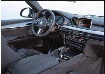 ??  ?? Le coffre affiche un volume de chargement très respectable. L'ambiance à bord est celle du X5, avec sa finition de qualité, ses nombreux équipements et ses options.