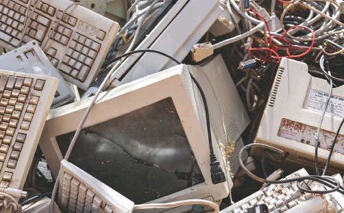 ??  ?? ABOVE Electronic waste from the West, once taken in by China, is now being processed by poor countries in Southeast Asia – often with deleterious effects IMAGE © SHUTTERSTOCK