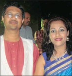 ??  ?? Pady and Jayanti Maydeo seen at the Indian consulgeneral's Diwali celebration.