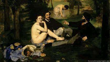 ??  ?? 'Desayuno en la hierba', de Édouard Manet, en el Museo de Orsay.