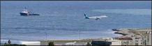?? (DR) ?? Le navire affrété par la préfecture maritime a découvert le corps sans vie à proximité de l'aéroport Nice Côte d'Azur.