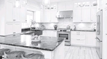 ?? YINYANG/GETTY IMAGES/ISTOCKPHOTO ?? According to a recent survey by Bright MLS, Washington-area home buyers want kitchens with open floor plans, granite countertops and stainless-steel appliances.