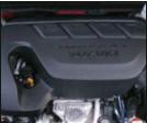??  ?? Le moteur essence avec son turbo développe 140 ch, mais aussi 22,4 mkg au régime très bas de 1 500 tr/min.